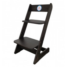 Растущий стул, черный