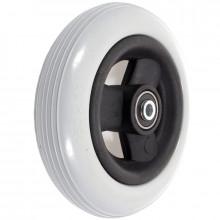 Колесо 150x30 полиуретановое серое (втулка 8x46)