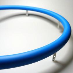 Накладка силиконовая на обруч 532-541мм, голубая - 1шт.
