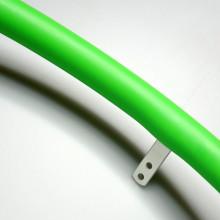 Накладка силиконовая на обруч 24, зеленая - 1шт.