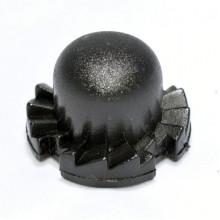 Кнопка регулятора D=20,5мм зубчатая (левая)