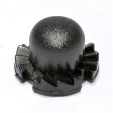 Кнопка регулятора D=20,5мм зубчатая (правая)