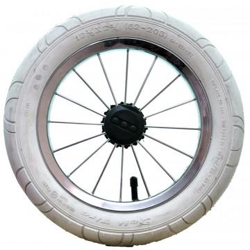 Колесо для коляски 12 дюймов белое (003008)